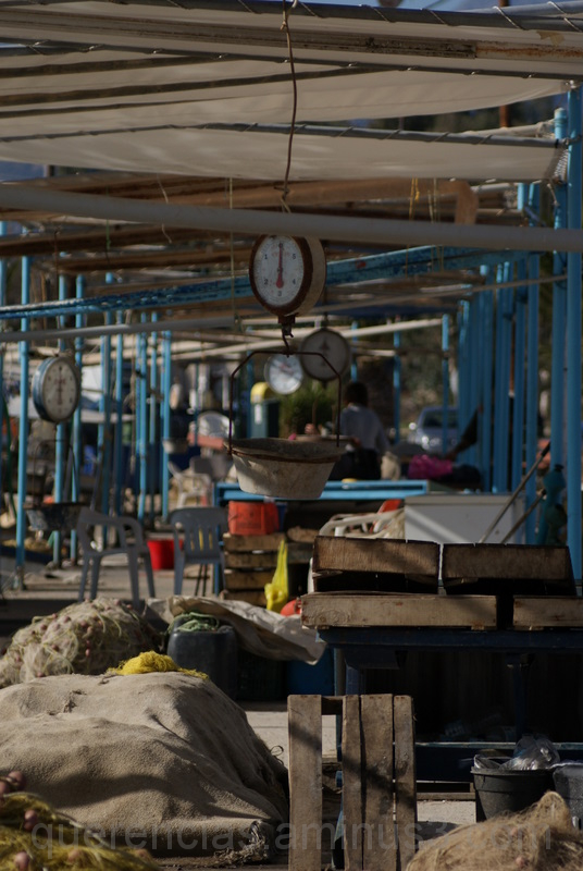 Nea Kios fish market, Greece