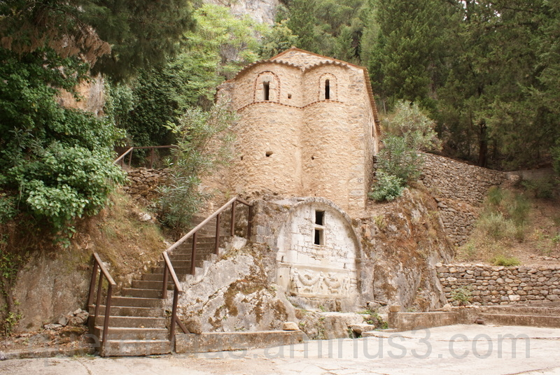 Agios Ioannis in New Mystras , Greece  .