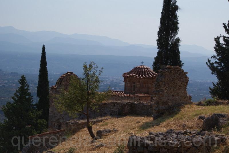old mistras greece peloponnese