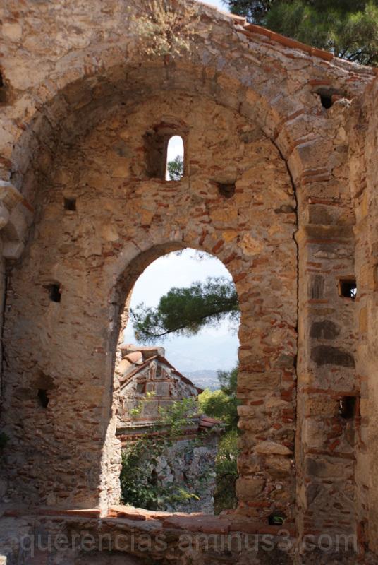 Monastery of our Lady Perivleptos, Mystras. Greece
