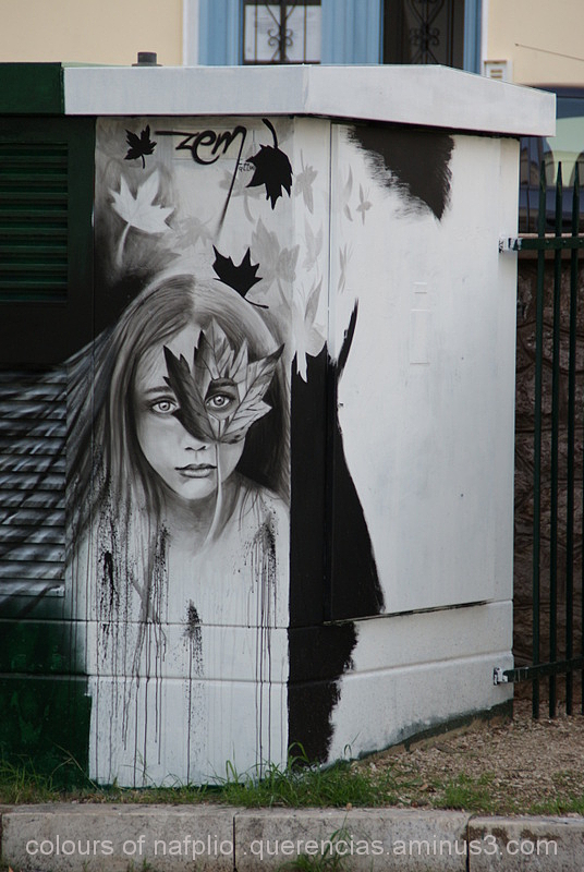 Nafplio Urban Art , Greece.