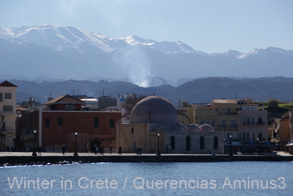 A view of Chania