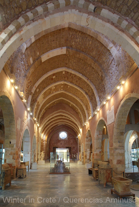 Chania Archaeological Museum, Crete. Greece