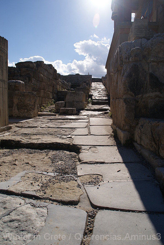 Knossos, Crete. Greece