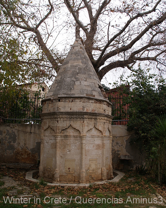 Ablution fountain, Archaeological museum. Chania