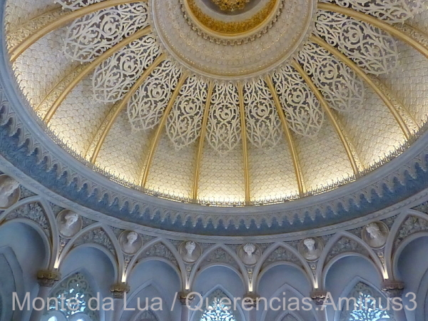 Monserrate Palace, Music Room. Sintra