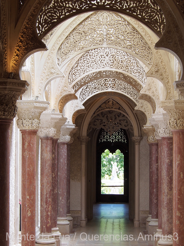 Gallery from Monserrate Palace, Sintra. Portugal