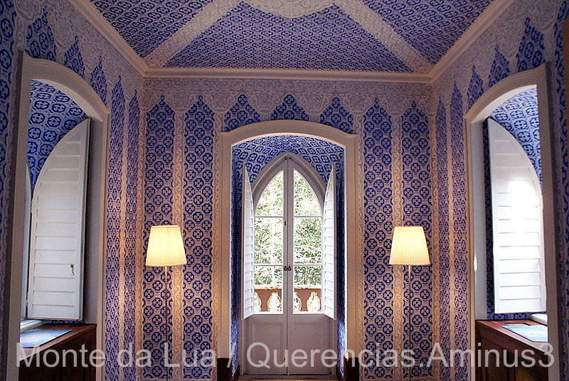 Dressing Room, Chalet Countess of Edla. Sintra