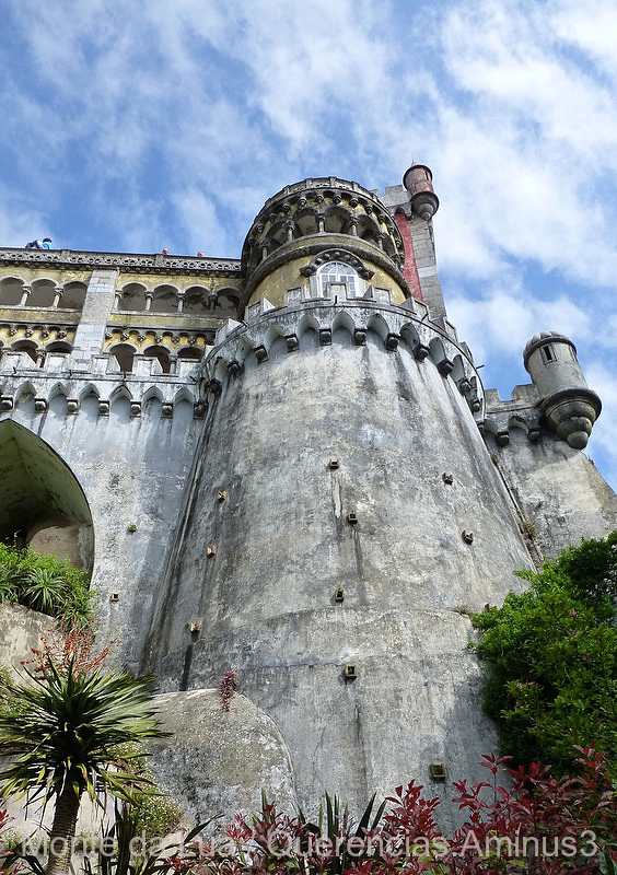 Park and National Palace of Pena, Sintra. Portugal