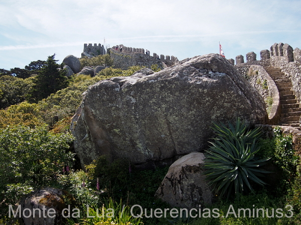 Castle Walls, Moorish Castle, Sintra.Portugal