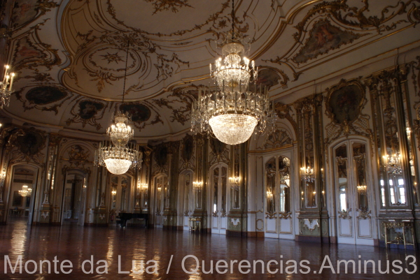 Throne Room ,Palace of Queluz. Portugal