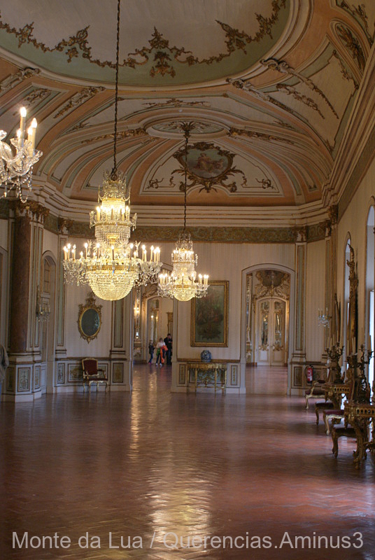 Music Room, Palace of Queluz, Portugal