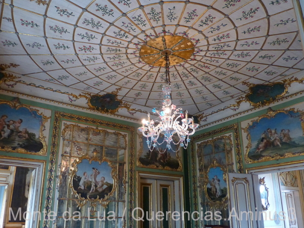 Queens's Dressing Room, Palace of Queluz, Portugal