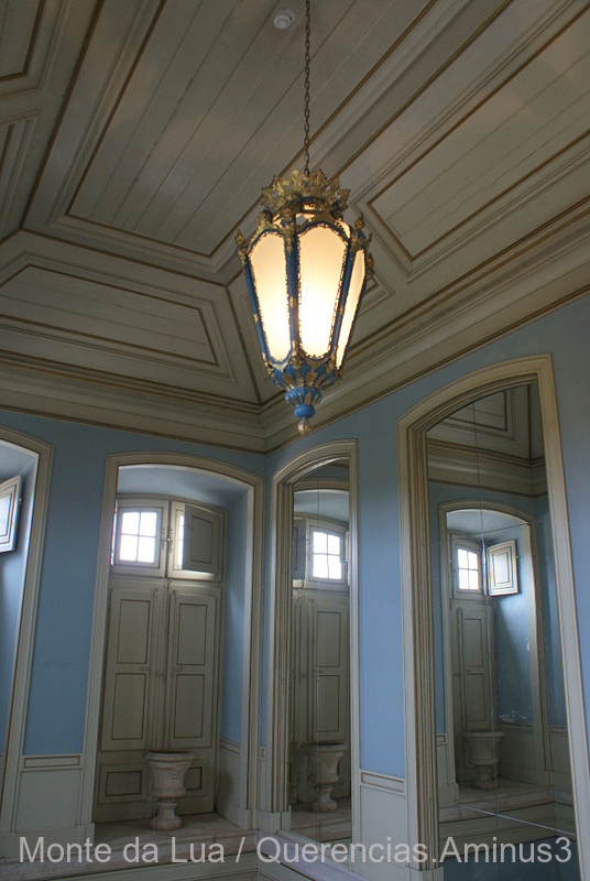 Palace Of Queluz, Blue Room. Portugal