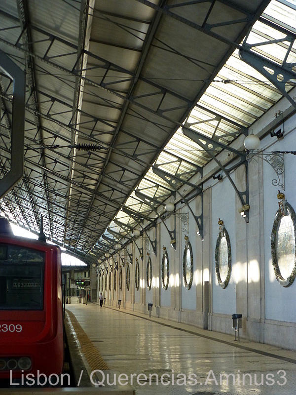 Rossio Train Station, Lisbon