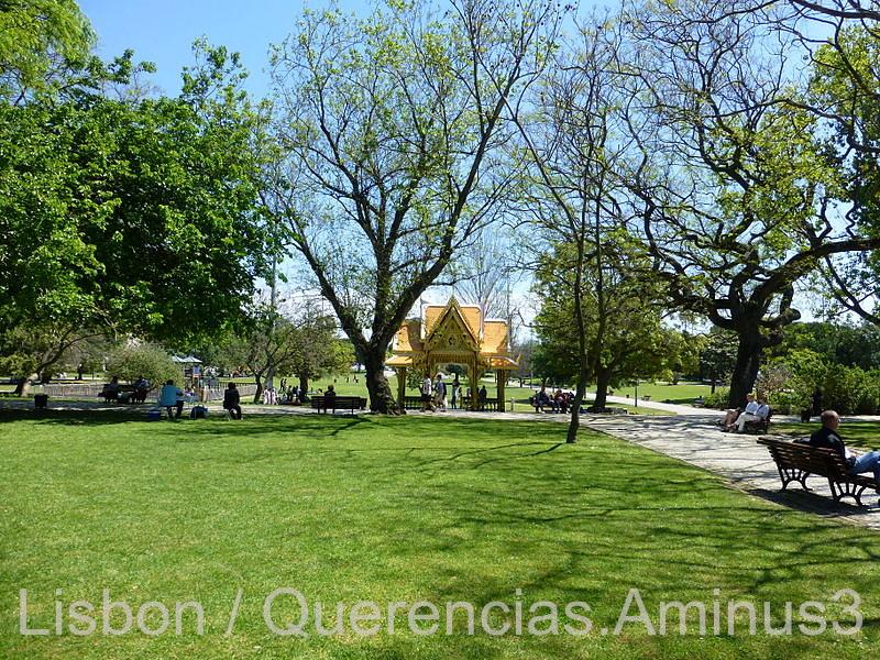 Thai Pavilion in Vasco da Gama Garden, Lisbon.