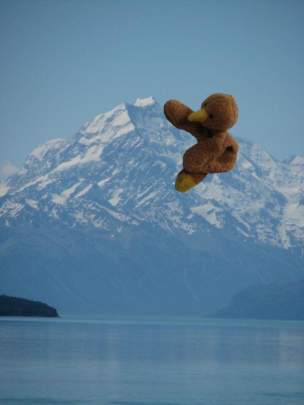 Kaha climbs Mt Cook