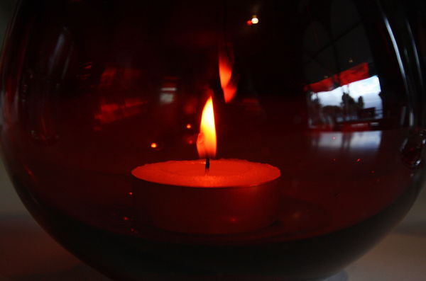 red candle I