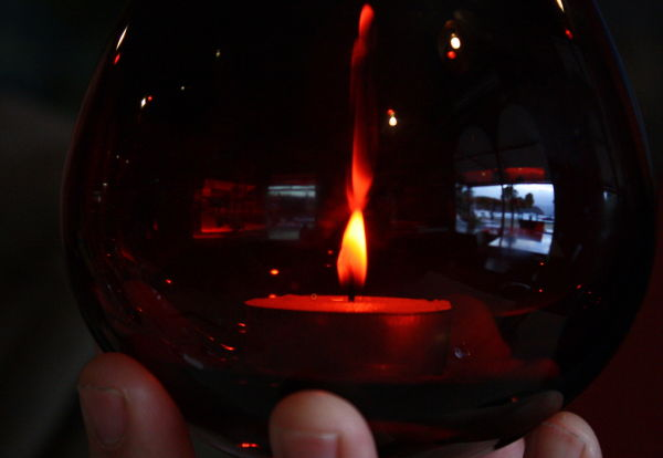red candle II