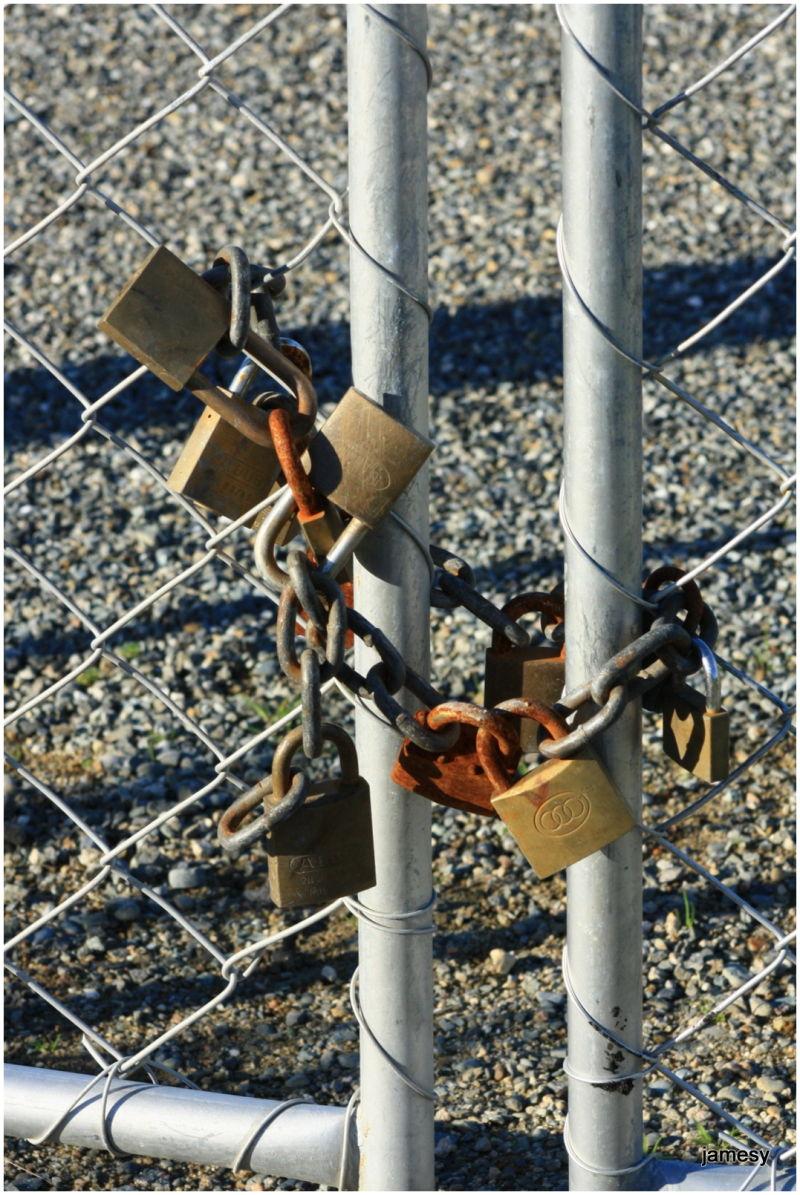 How many locks does it take?