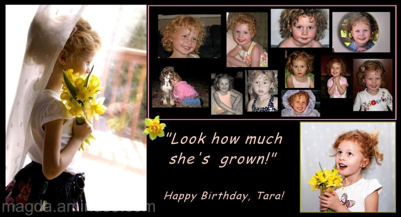Happy Birthday Sweetie! :)