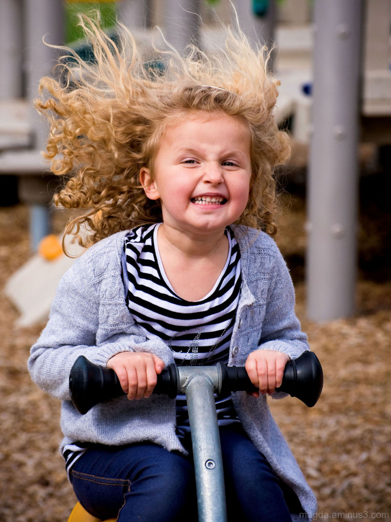 """""""Daddy Did My Hair!"""" - Happy Silly Tuesday! :)"""