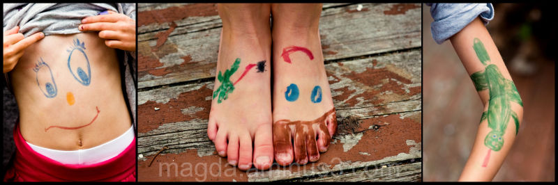 Body Art - Happy Silly Tuesday! :)
