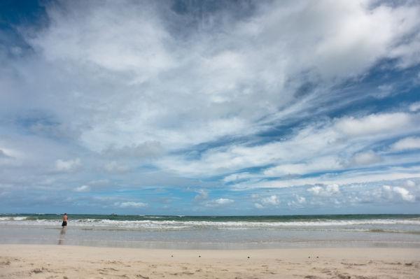 kalama beach, kailua