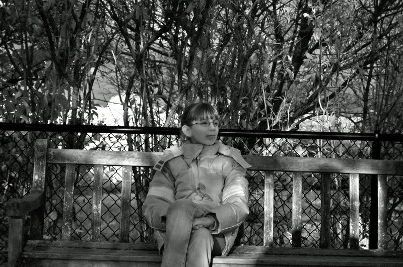 Sydney at the Arboretum