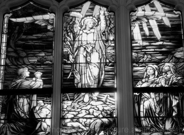 Christ Mass  Window