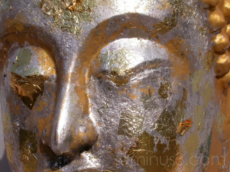 Buddha Close Up