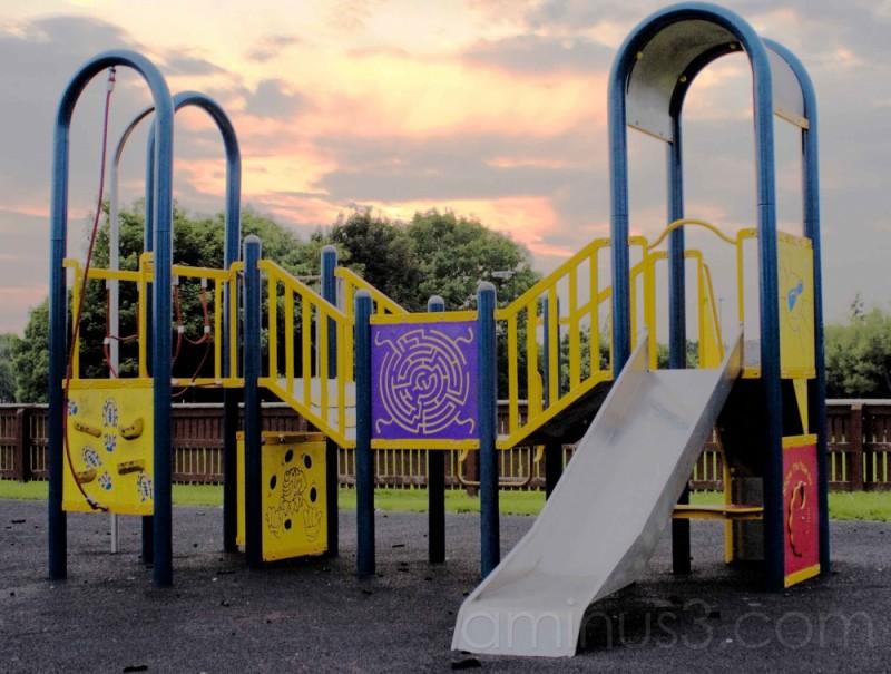 Playground at Dusk