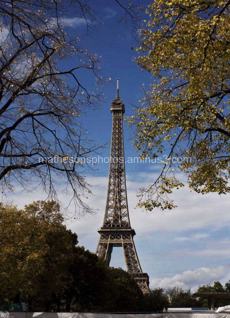 Eiffel Tower in Colour