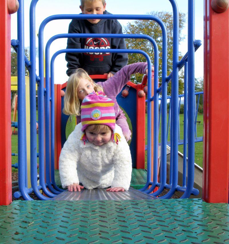 Playtime at Haughton park