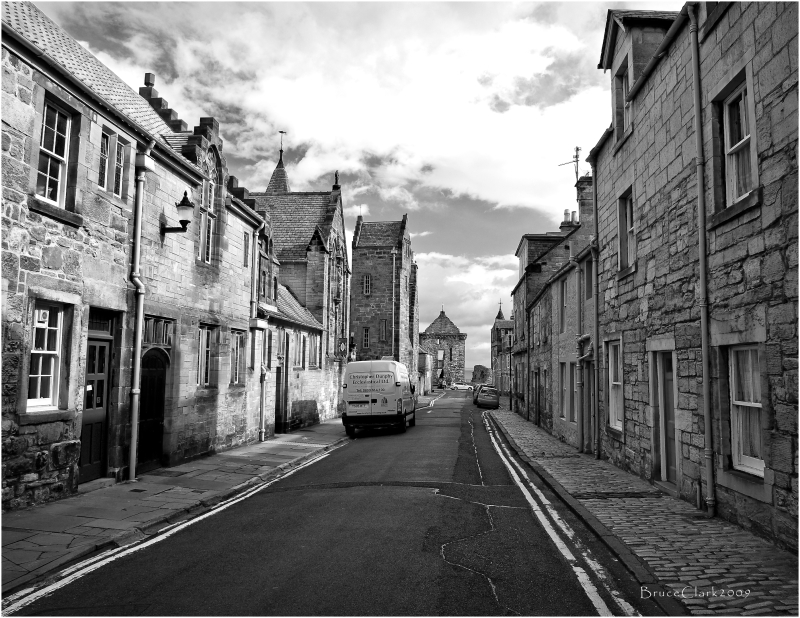 Castle Lane, St Andrews, Scotland