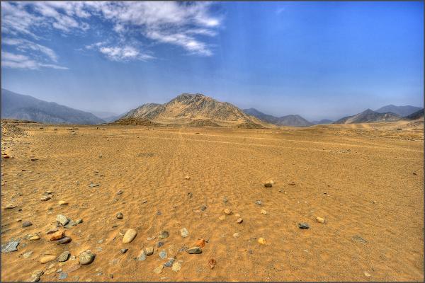 Caral, Peru - 3000 B.C.