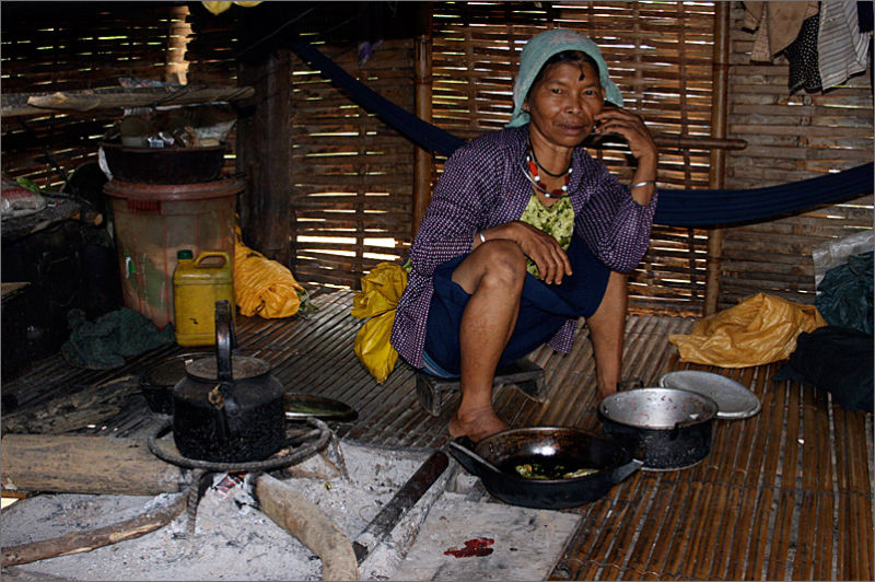 Woman in Hill Tribe Vietnam