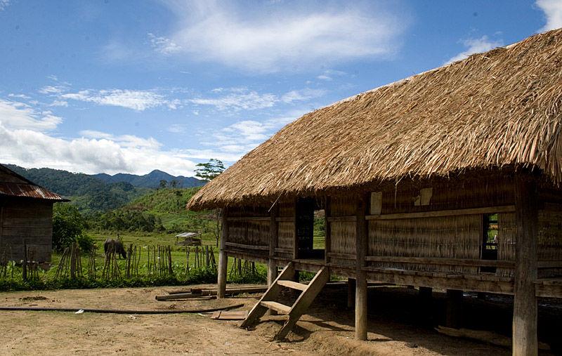 House on stilts in Vietnam