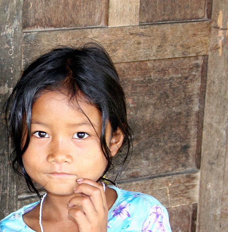 Girl in Vietnamese Hill Tribe