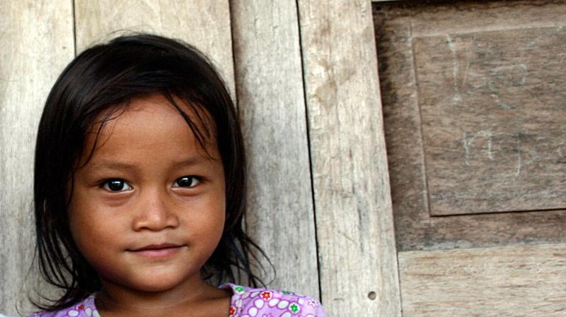 Girl in Vietnam Hill Tribe