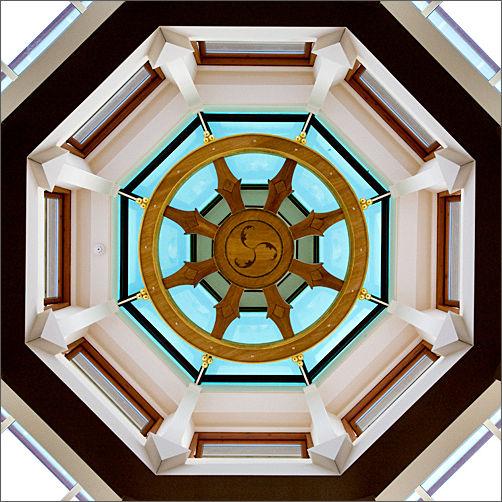 Manjushri's temple roof