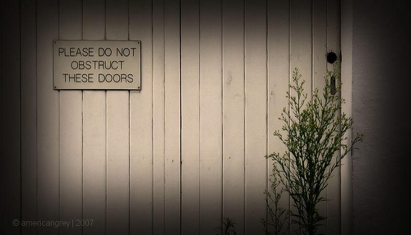 Disobedient Weeds
