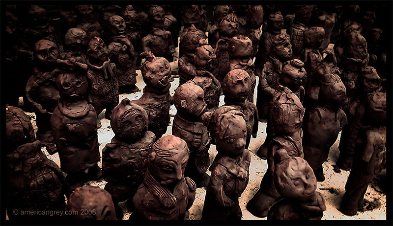 Terracotta Crowd