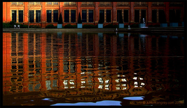 Courtyard Reflections [V&A]