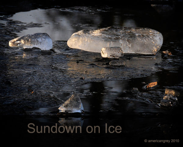 Sundown on Ice