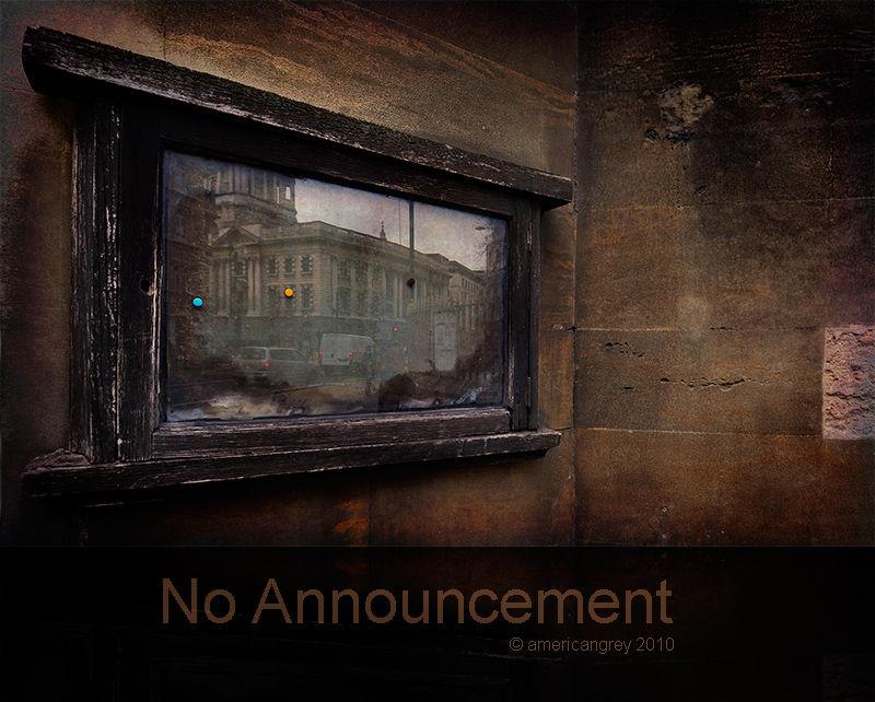 No Announcement