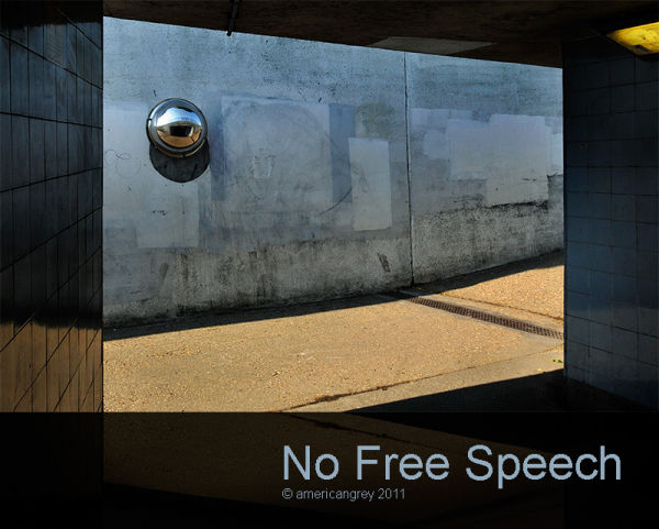 No Free Speech