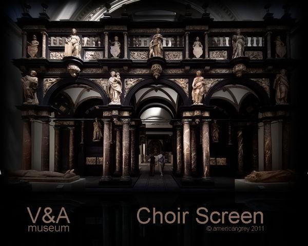 Choir Screen, c.1600