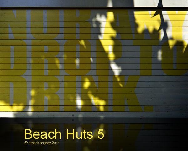 Beach Huts 5/6
