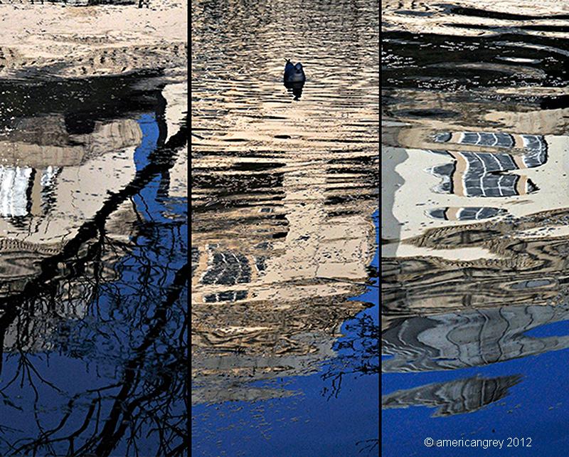 Reflection x 3